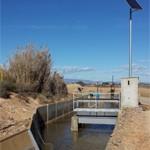 Compuerta automática Canal de Pinyana