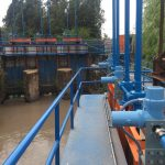 Compuertas  bocatoma Canal Almahue