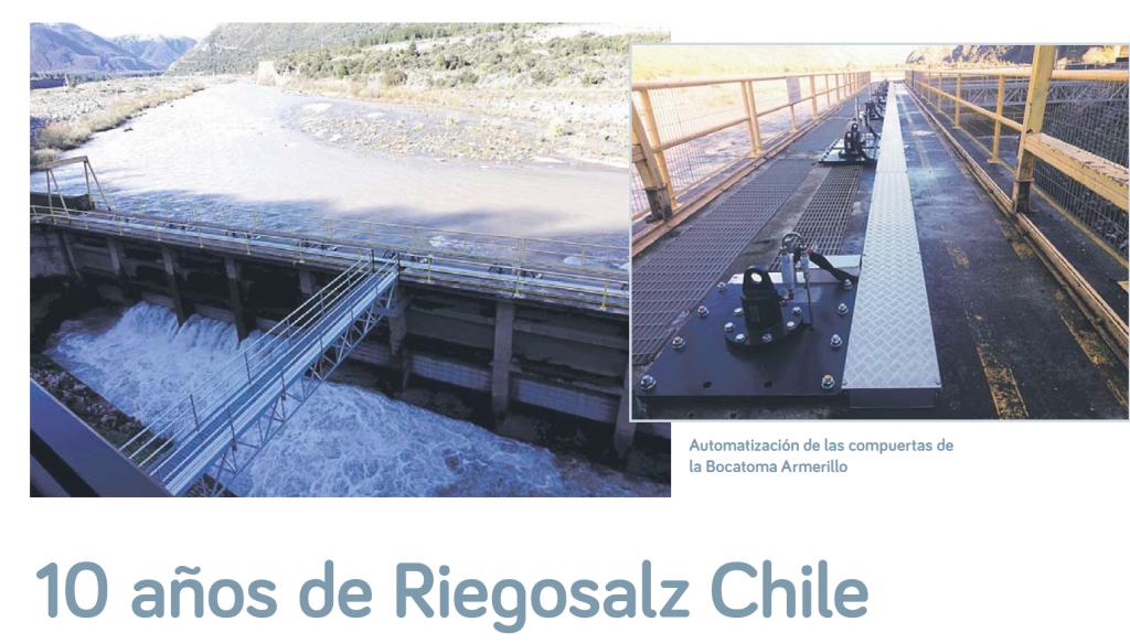 Revista AGRYD 10 años Chile