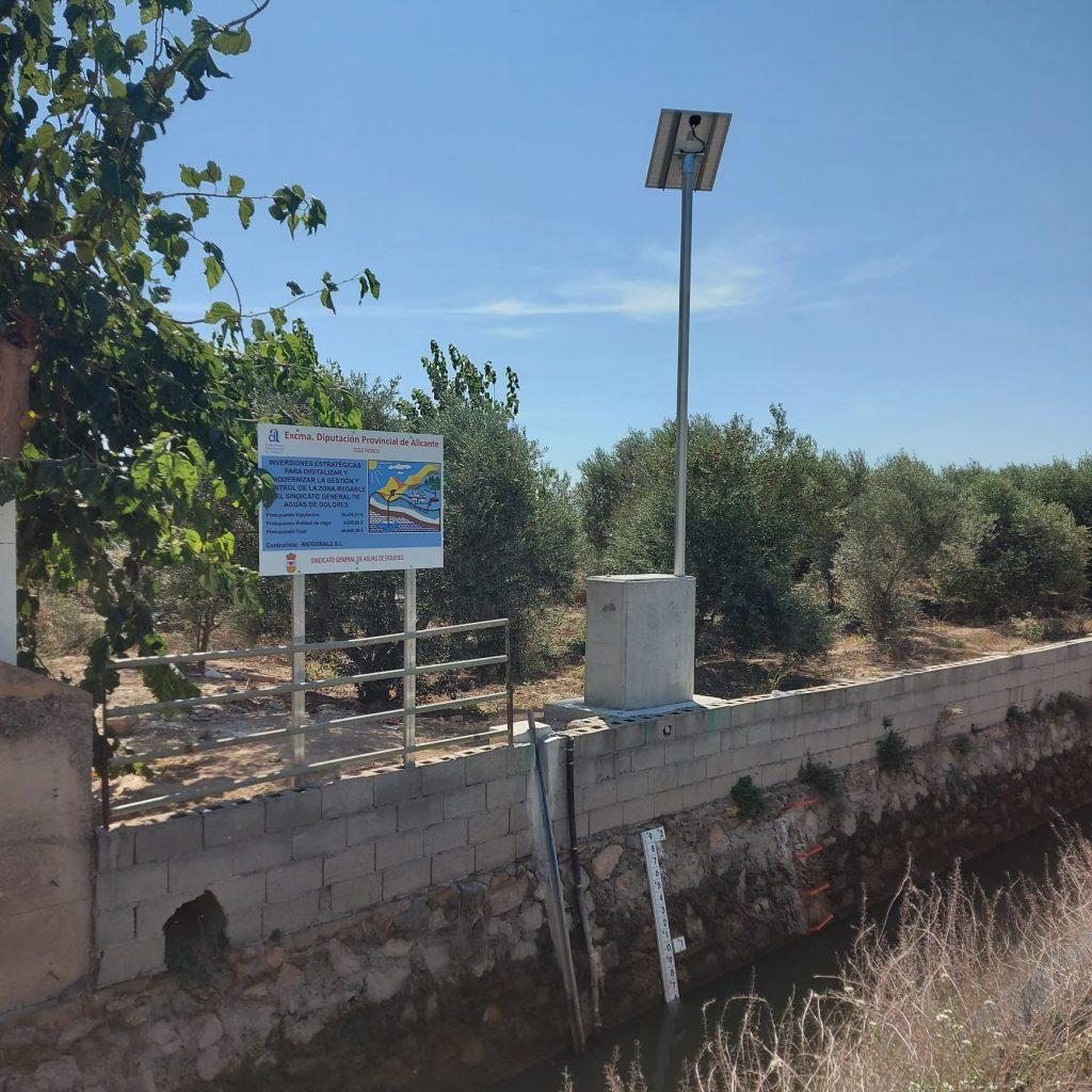 Equipo en Azarbe de Abanilla