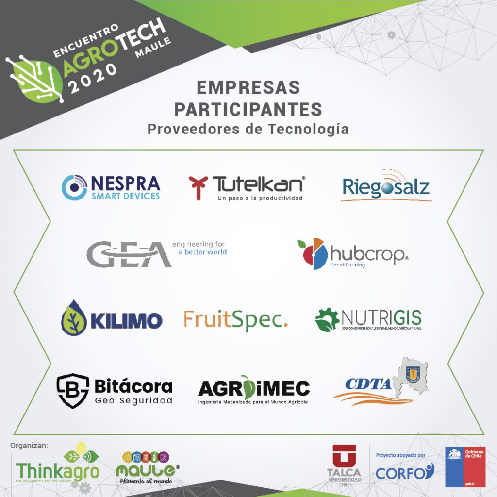 Empresas participantes AgroTechMaule20